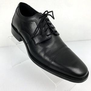 Johnston Murphy Cap Toe Lace Up Oxfords